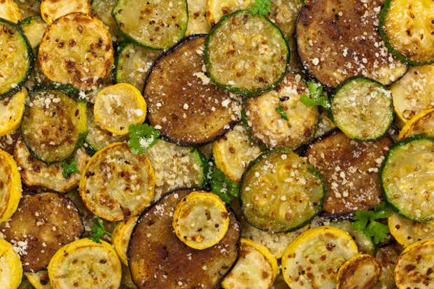 Салат из кабачков Три вкуса