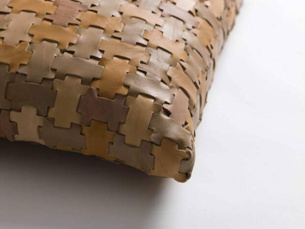 кожа, плетение, фактура, подушки