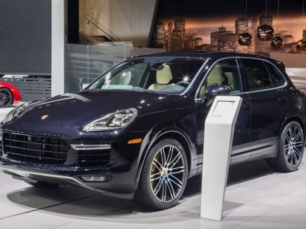 Детройт посетил самый мощный Porsche Cayenne (ВИДЕО)