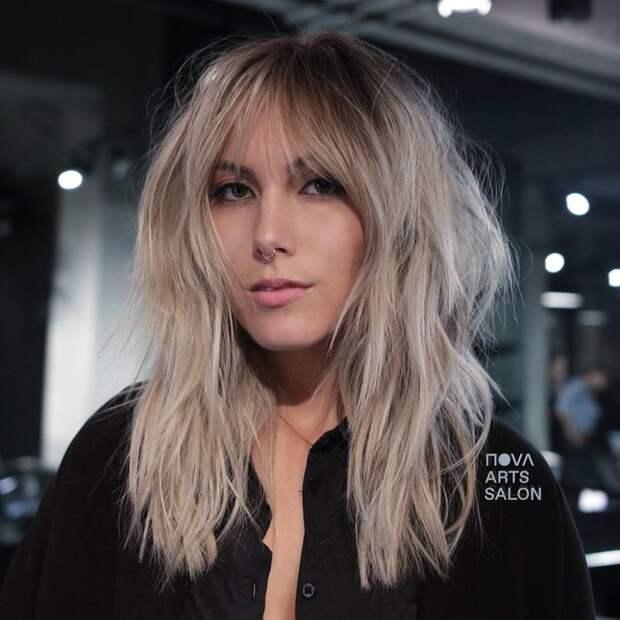 Стрижки на светлые волосы 2020 фото 8