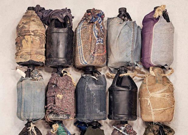 Личные вещи, выброшенные на американо-мексиканской границе