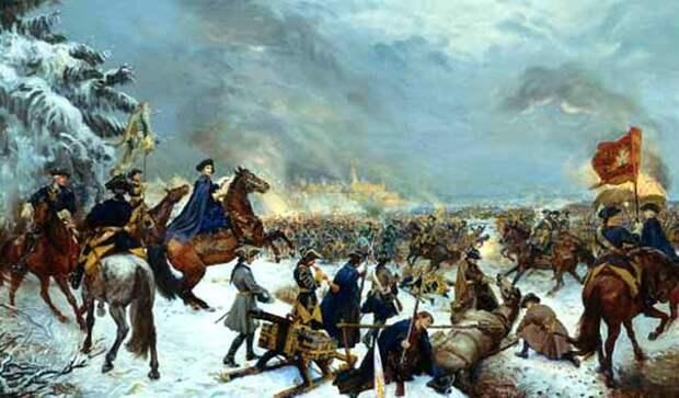 22 февраля 1709 года состоялась Краснокутская битва, в которой русская честь спасла шведского короля.