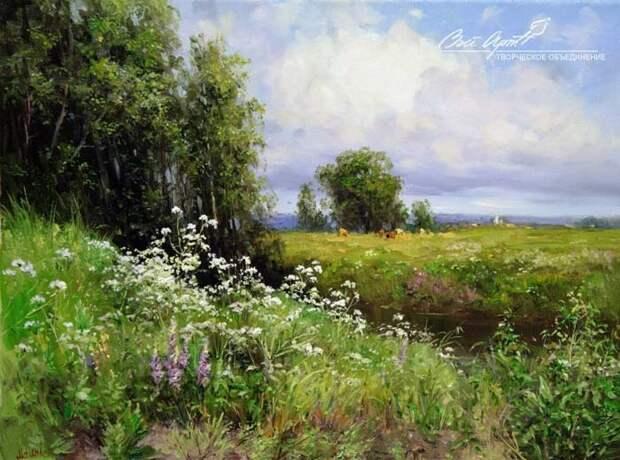 пейзажи художник Сергей Малов - 07