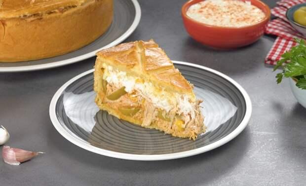 Бразильский пирог с курицей: путешествуем, не выходя из кухни