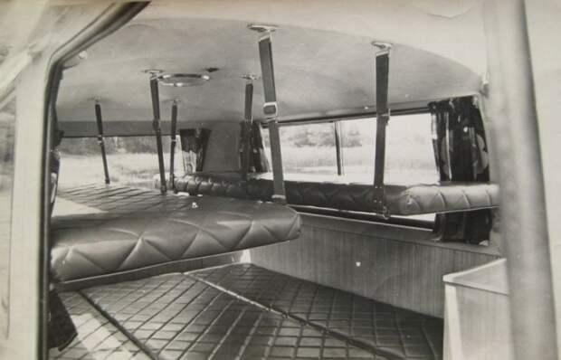 Салон первого советского трейлера. /Фото: treiler.ru