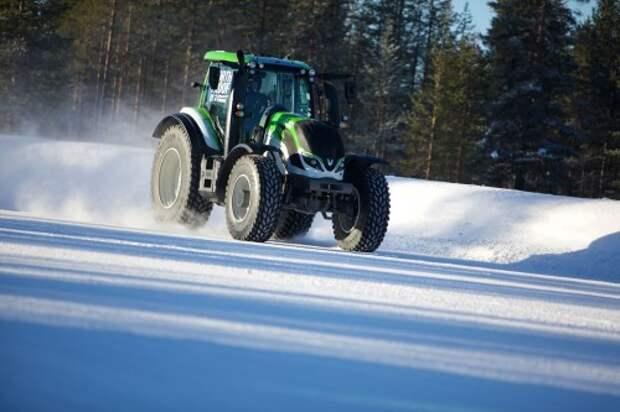 Nokian установила мировой рекорд скорости для тракторов