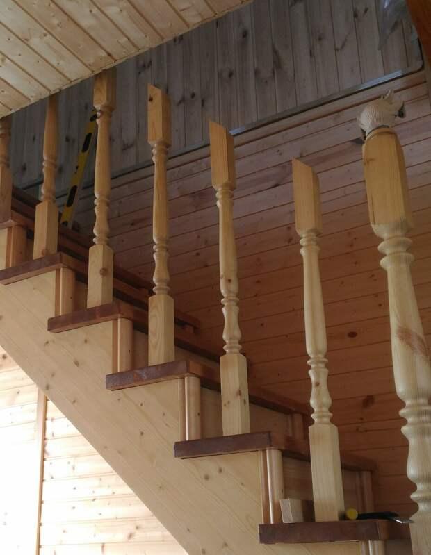 Как я сделал ограждение лестницы