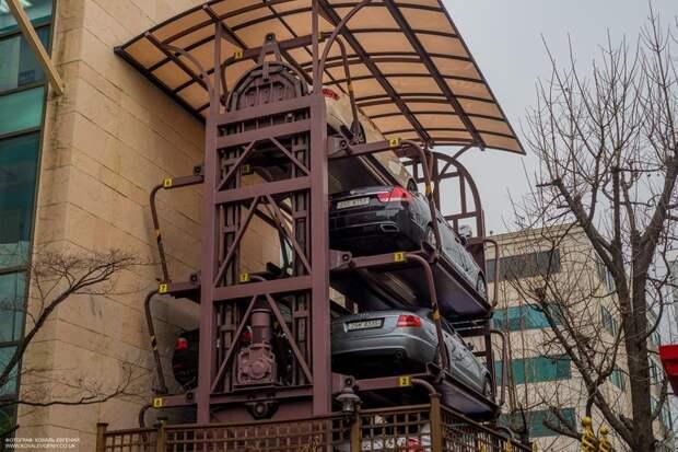 Карусельная парковка Фабрика идей, автомир, гаражи. навесы, решения