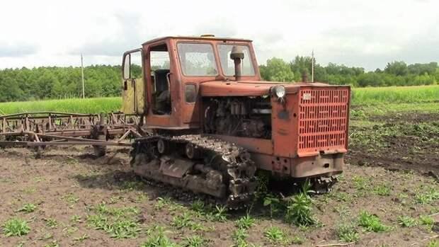 Один из самых сильных тракторов СССР, трактор Т4