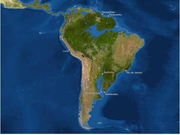 Как будет выглядеть Земля, если на планете растает весь лед