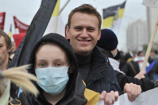 Навальному больше не комильфо ходить с дебилами на «русские марши»