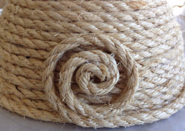 Корзинка с крышкой своими руками из сизалевой веревки (14) (400x285, 144Kb)