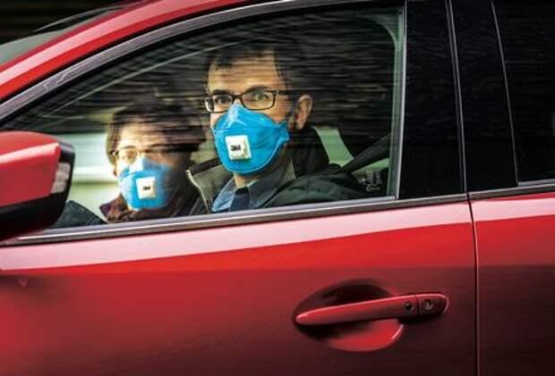 Cодержание окислов азота в салоне автомобиля превышает допустимые нормы