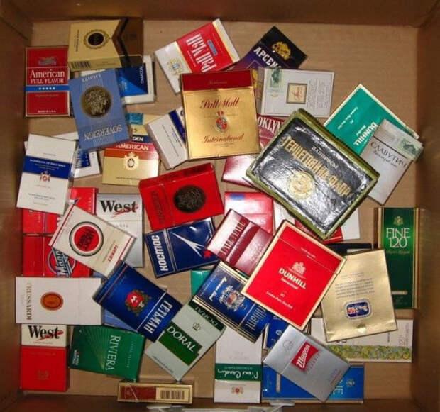 10. Пачки из-под сигарет прикол, ссср, факты