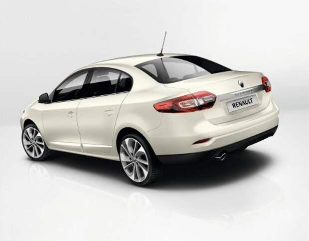 Renault обновила седан Fluence