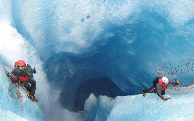 Ледниковый водопад