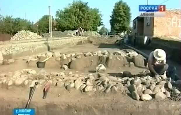 """""""Ногирский"""" курган оказался разграбленным"""