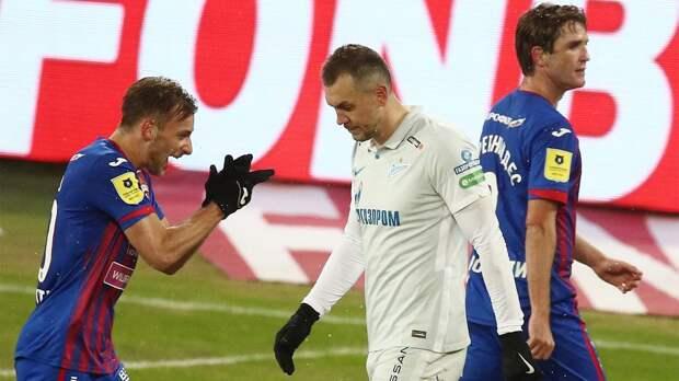 КДК РФС оштрафовал «Зенит» по итогам матча с ЦСКА на 140 тыс. рублей