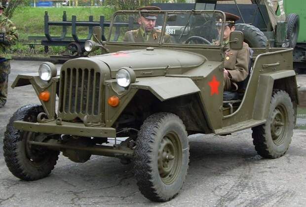 ГАЗ-64 автомобили, газ, фоторепортаж