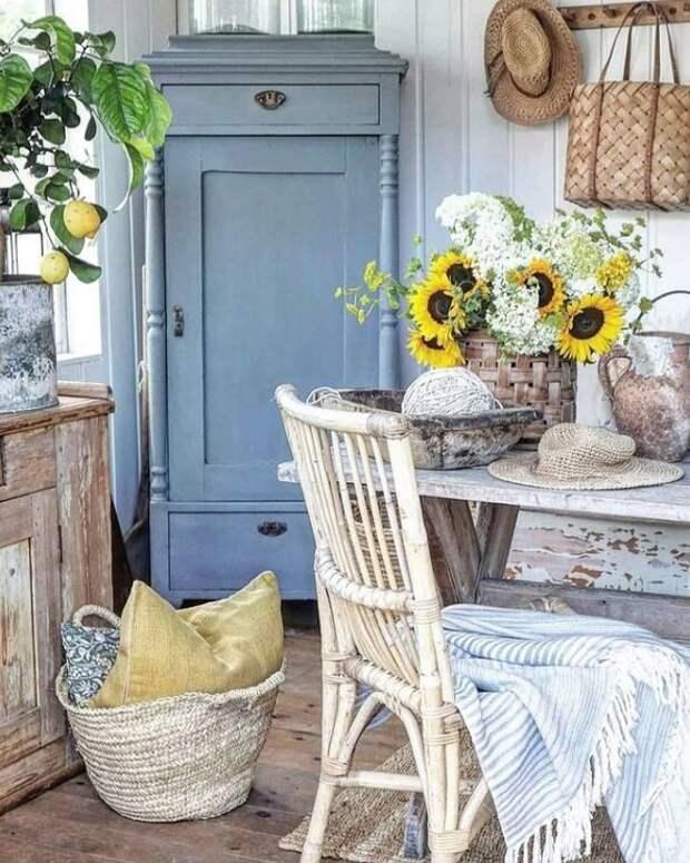"""""""Деревенская мечта"""": цветущий сад и красивый дом в сельской глубинке Норвегии"""