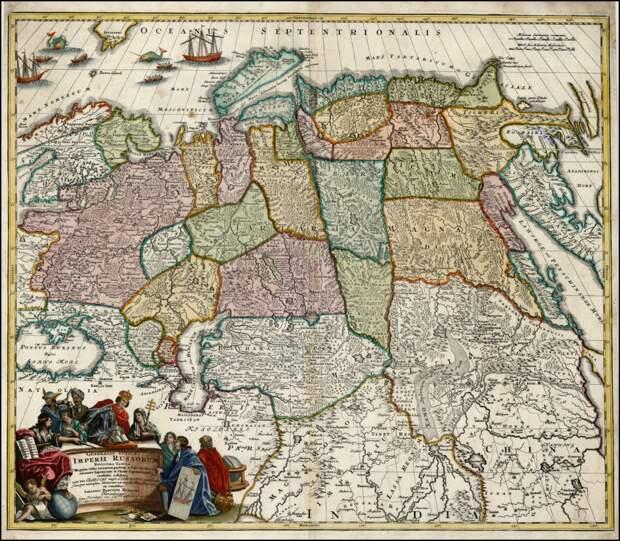 Карты Тартарии XVIII вв. Опровержение фальсификаций истории.