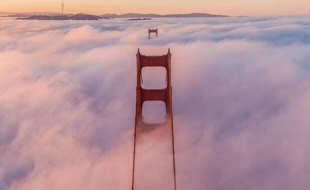 Мост Золотые Ворота, штат Калифорния Фотограф: Тоби Гарриман