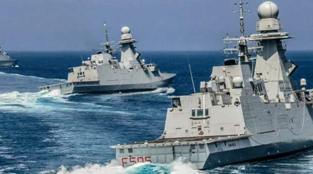 Реакция РФ на неожиданный визит итальянского фрегата Virginio Fasan в Черное море шокировала Рим