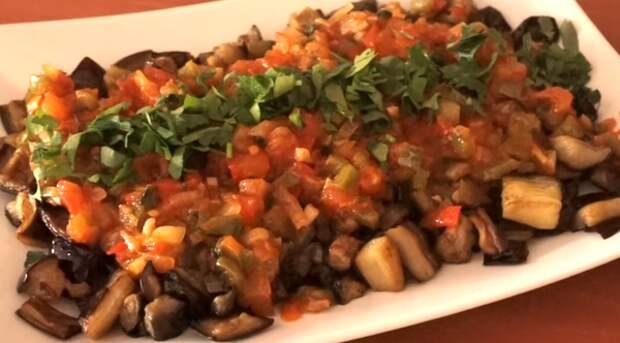Шакшука на турецкий мотив: восточная овощная закуска