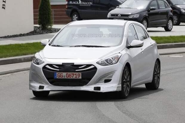 Прототип Hyundai i30 N