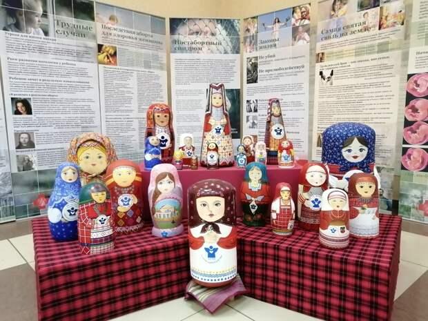 Матрешка шагает по стране: акцию «Зарождение» проводят в Удмуртии