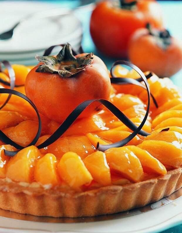 ДЕСЕРТНЫЙ ВИХРЬ. Пирог с яблоками и хурмой