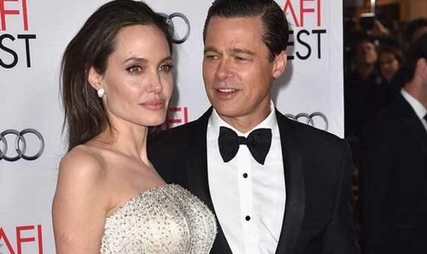 Исхудавшая Джоли вышла в свет