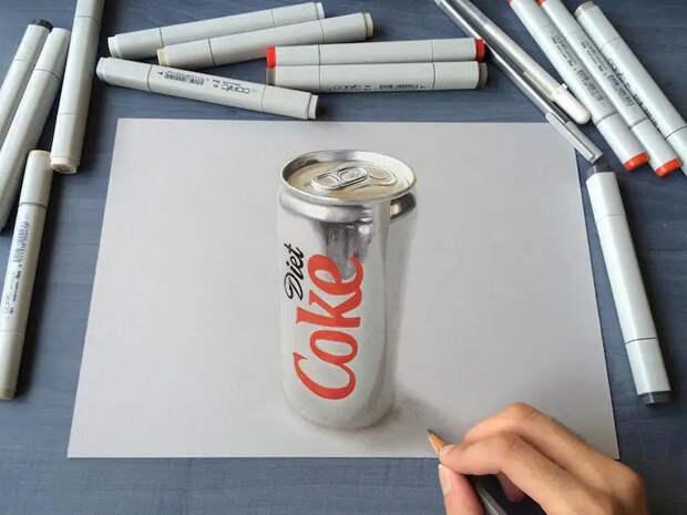 Гиперреалистичные рисунки индийского художника, которые вводят взаблуждение