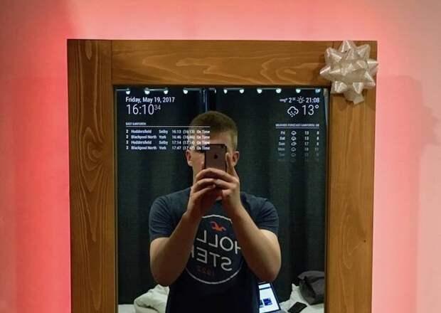 Свет мой, зеркальце, скажи: парень сделал волшебное зеркало своими руками