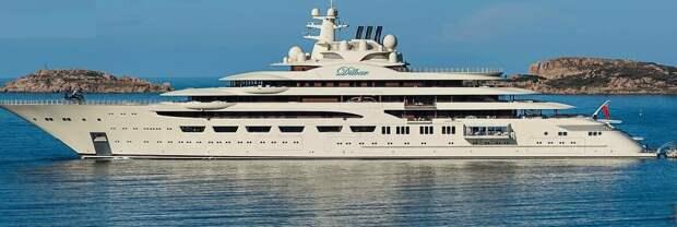 Яхта Усманова, которому деньги из бюджета хочется. Изображение из сети интернет и в свободном доступе