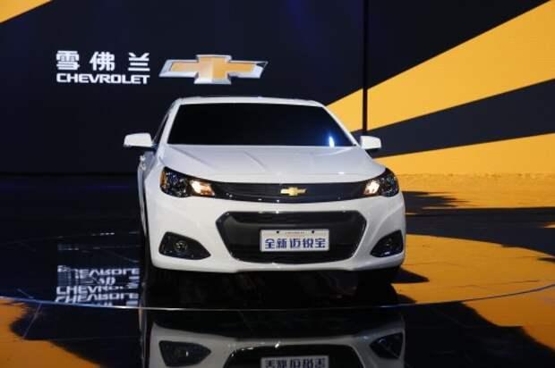 В Китае обновился седан Шевроле Малибу