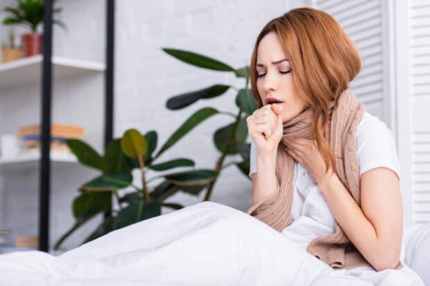 Симптомами каких болезней могут быть боль в груди и сухой кашель
