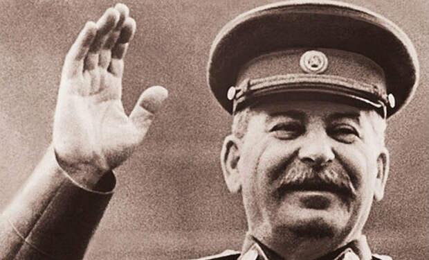 Обед Сталина во время войны