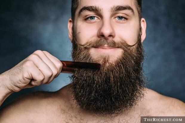 1. Борода приносит пользу людям борода, факты