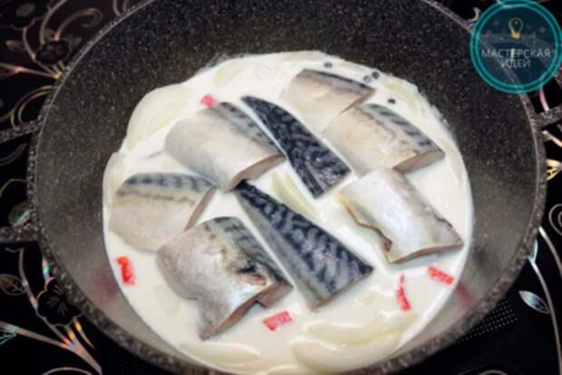 Как я теперь готовлю скумбрию за 20 минут: без запекания и жарки — в молоке