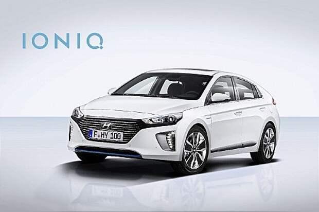 Hyundai Ioniq показал лицо, но умолчал о батарее (ВИДЕО)