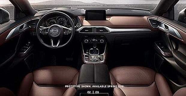 Досрочный дебют: раскрыты тайны Mazda CX-9 (ФОТО)