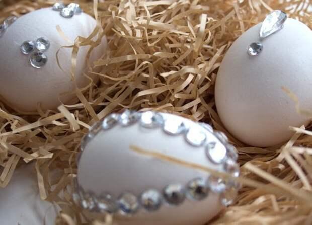 6. Если красить не хотите, то можно обойтись аппликациями пасха, праздник, украшение яиц, яйца