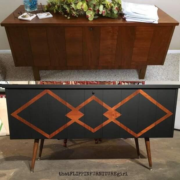 Простое преображение мебели (трафик)