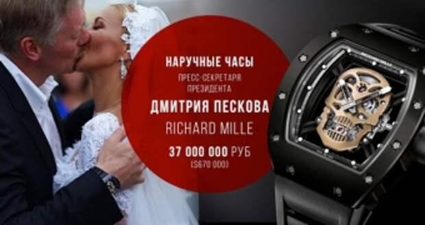 Блогеры поймали Дмитрия Пескова на лжи