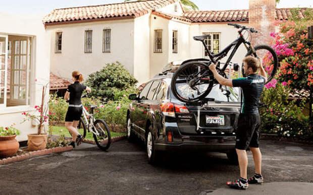 Самые удобные способы перевозки велосипеда