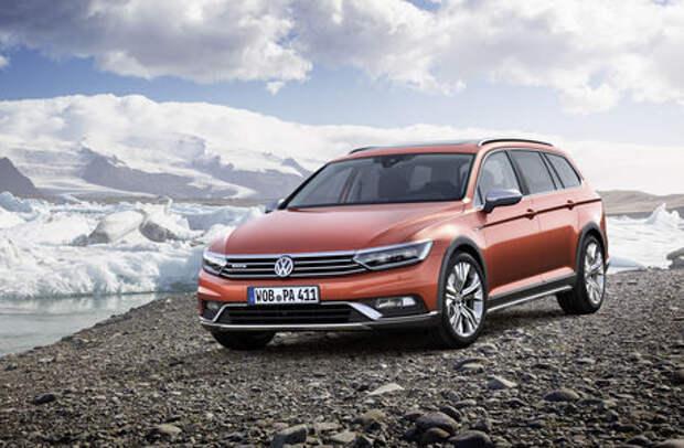Volkswagen Passat Alltrack не боится испачкаться в России