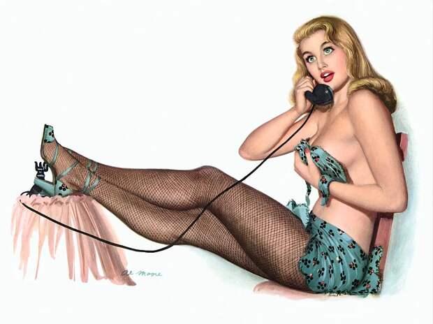 Проституточный телефонный спам в разгаре