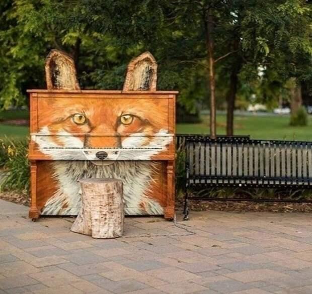 Уличное пианино