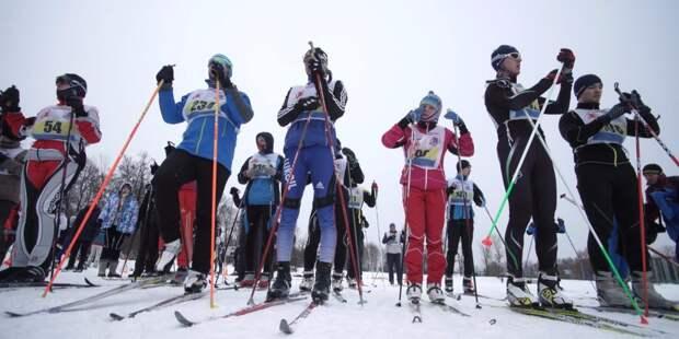 В гонке на Сходне приняли участие более 40 лыжников